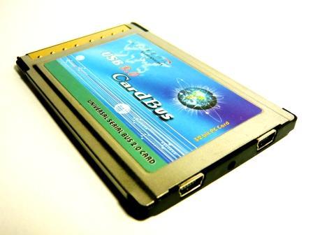 即決1780円!!#018★PCMCIA CardBus 2MiniPort USB2.0PCカード