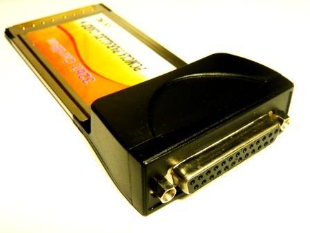 #021★PCMCIACardBus25pinメスパラレルPortカード★